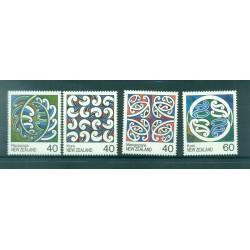 Nouvelle Zélande 1988 - Mi. n. 1017/1020 - Artisanat Maori