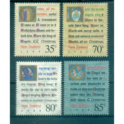 Nouvelle Zélande 1988 - Mi. n. 1037/1040 - Noël