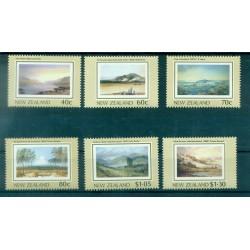 Nouvelle Zélande 1988 - Mi. n. 1041/1046 - Tableaux