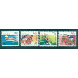 Nouvelle Zélande 1988 - Mi. n. 1033/1036 - Jeux Olympiques Séoul