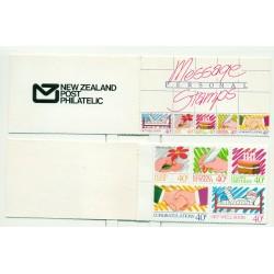 "Nouvelle Zélande 1988 - Mi. n. 1022/1024 MH - ""Greeting Stamps"""