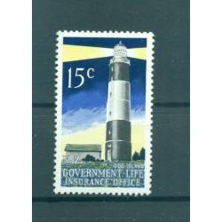 Nouvelle Zélande 1969 - Mi. n. 43 C - Timbres de Service - Variété