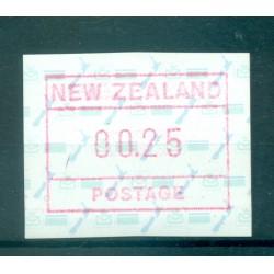 Nouvelle Zélande 1986 - Mi. n. 2 - Distributeur 00.25