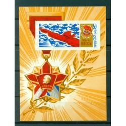 USSR 1968 - Y & T sheet n. 51 - 50th anniversary of the Komsomols