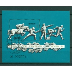 URSS 1977 - Y & T foglietto n. 119 - Pre-Olimpiadi di Mosca