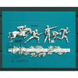 USSR 1977 - Y & T sheet n. 119 - Moscow Pre-Olympics