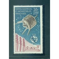 """T.A.A.F. 1965 - Mi. n. 32 - """"ITU"""" Centenary"""
