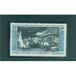 T.A.A.F. 1965 - Mi. n. 31 - Découverte de la Terre d'Adélie