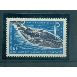 T.A.A.F. 1966 - Mi. n. 36 - Faune, Balieine