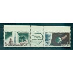 T.A.A.F. 1966 - Mi. n. 33/34 - 1er Satellite national