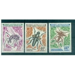 T.A.A.F. 1972 - Mi. n. 71/73 - Insectes I