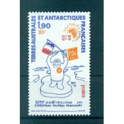 T.A.A.F. 1977 - Mi. n. 125 - Spedizioni polari 50°