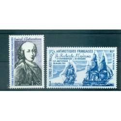 T.A.A.F. 1980 - Mi. n. 140/141 - Admiral d'Entrecasteaux