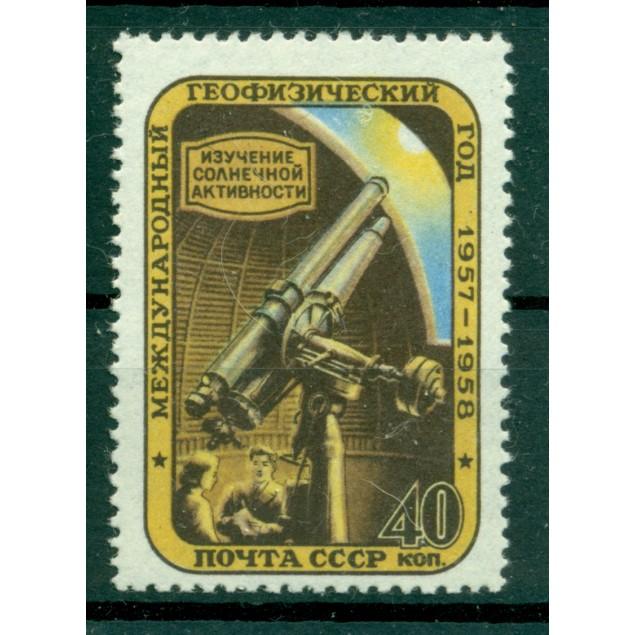 USSR 1957 - Y & T n. 1940 -  International Geophysical Year