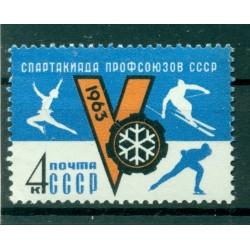 URSS 1963 - Y & T n.2644 - Torneo sportivo d'inverno dei sindacati