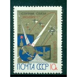 "URSS 1966 - Y & T n. 3087 - Satellites de communications ""Molnia I"""