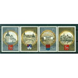 URSS 1978 - Michel n. 4788/91 - Jeux olympiques d'été de 1980