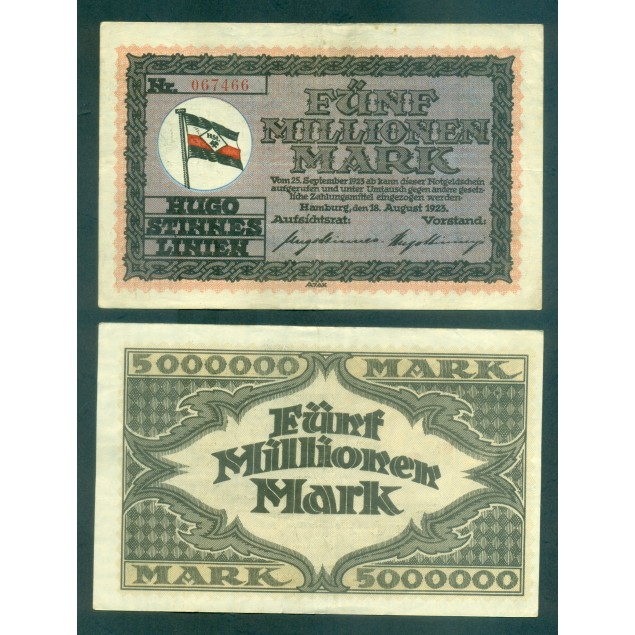 OLD GERMANY EMERGENCY PAPER MONEY - NOTGELD Appeln 1921 50 Pf