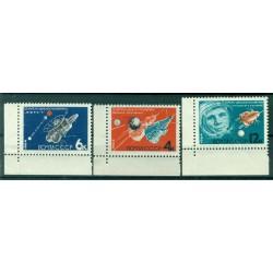 URSS 1964 - Y & T n. 2802/03-08 - Journée de la cosmonautique (Michel n.2895/97 A)
