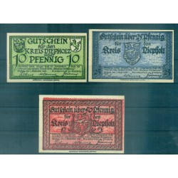 OLD GERMANY EMERGENCY PAPER MONEY - NOTGELD Diepholz 1920