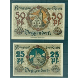 OLD GERMANY EMERGENCY PAPER MONEY - NOTGELD Deggendorf 1921