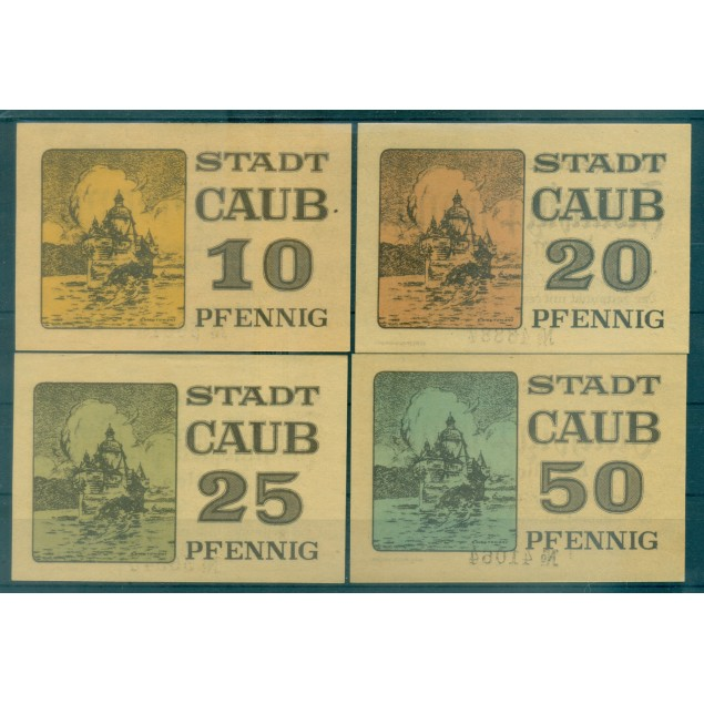 OLD GERMANY EMERGENCY PAPER MONEY - NOTGELD Caub 1920