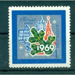 USSR 1968 - Y & T n. 3431 - New Year 1969