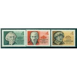 URSS 1964 - Y & T n. 2813/15 - Anniversaires d'hommes de lettres