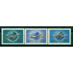 URSS 1958 - Y & T n. 105/07 poste aérienne - Aviation civile