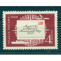 URSS 1968 - Y & T n. 3533 - Semaine internationale de la lettre écrite