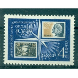 USSR 1968 - Y & T n. 3403 - Stamp and Collector Day
