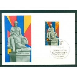 RDA 1969 - Michel n.1512 - Carte-Maximum Monument national de Copenhague