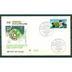 Allemagne 1983 - Y & T n. 1019 - Union de géodésie et géophysique
