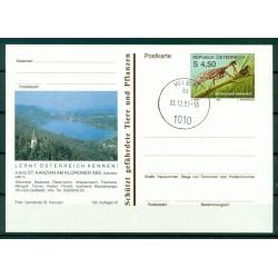 Autriche  1991 - Entier postal  St. Kanzian Am Klopeiner See - 4,50 S