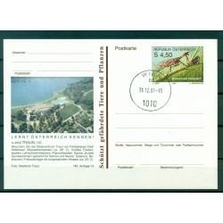 Autriche  1991 - Entier postal  Traun - 4,50 S