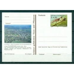 Autriche  1991 - Entier postal  Feldkinchen - 4,50 S