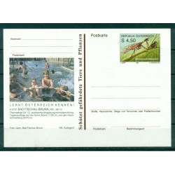 Austria 1991 - Postal Stationery Bad Fischau-Brunn -  4,50 S