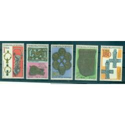 Czechoslovakia 1969 - Mi. n. 1898/1902 - Archaeology