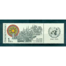 Czechoslovakia 1970 - Mi. n. 1945 - UNO/ONU