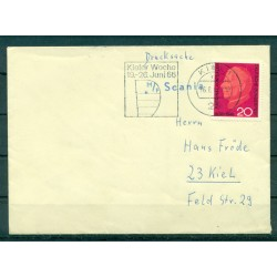 Germany 1966 - Cover ship Scania