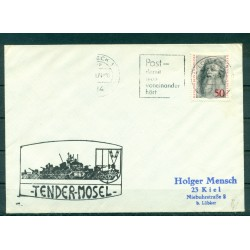 Germany 1974 - Cover replenishment ship Mosel