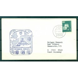 Germany 1984 - Cover replenishment ship Mosel