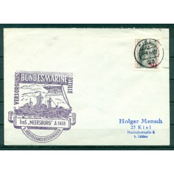 Germany 1974 - Cover auxiliary ship Meersburg