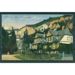 "Allemagne  1932 - Y & T n. 403 - Carte postale ""Münster am Stein"""