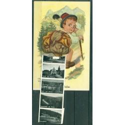 "Germany 1957 - Postcard ""Gruss aus Brilon"""