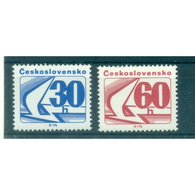 Czechoslovakia 1975 - Mi. n. 2238/2239 - Emblem
