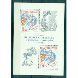 Tchécoslovaquie 1976 - Mi. n. 2335 Bl. 33 - KSZE