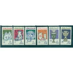 Tchécoslovaquie 1977 - Mi. n. 2381/2386 - Porcelaines