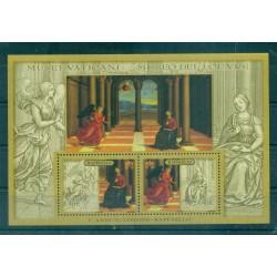 "Vatican 2005 - Mi. n. 1536/1537 Bl. 26 - World Museums ""Raffaello"""