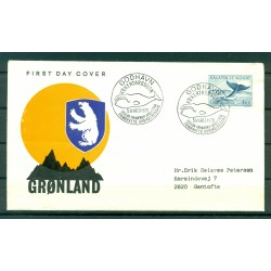 Greenland 1969 - Y & T n. 62 - Definitive (Whale)